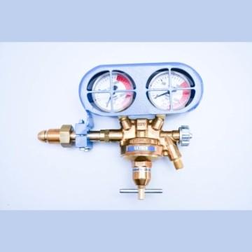 Regulators Hercules Multi – Effect Regulator Long Bullnose Oxygen 3/8″ with Blue Gauge Guard