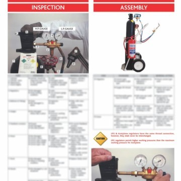 Gas Safety Posters GSI Gas Safety Poster 2 – 730 x 530